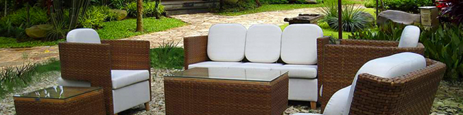 Muebles de Ratán sintético