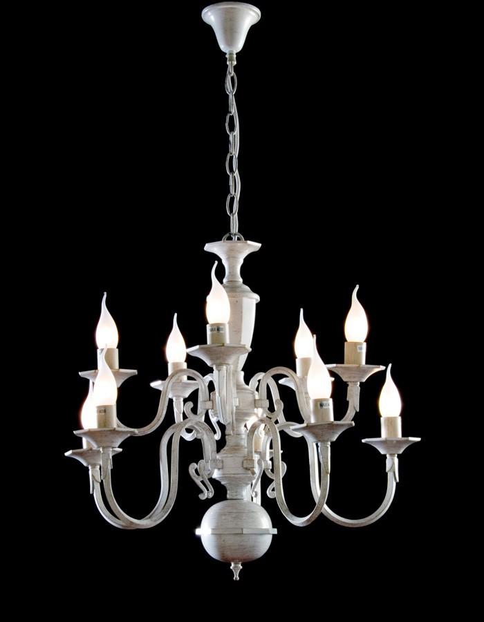 Lámpara Colgante De 10 Luces Mod. Carla