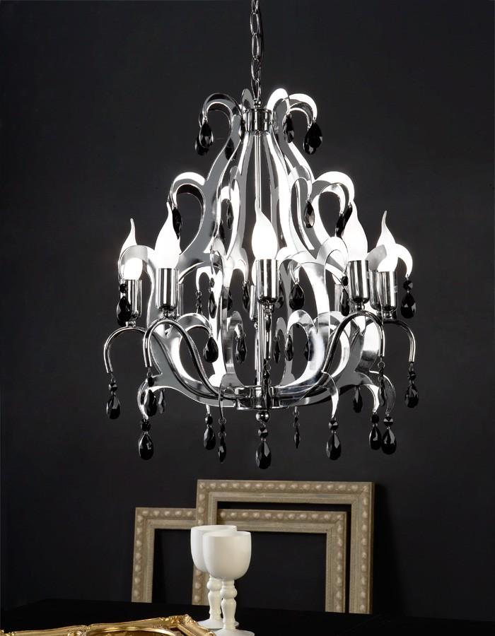 Lámpara Colgante Con 4 Luces Mod. Alexia