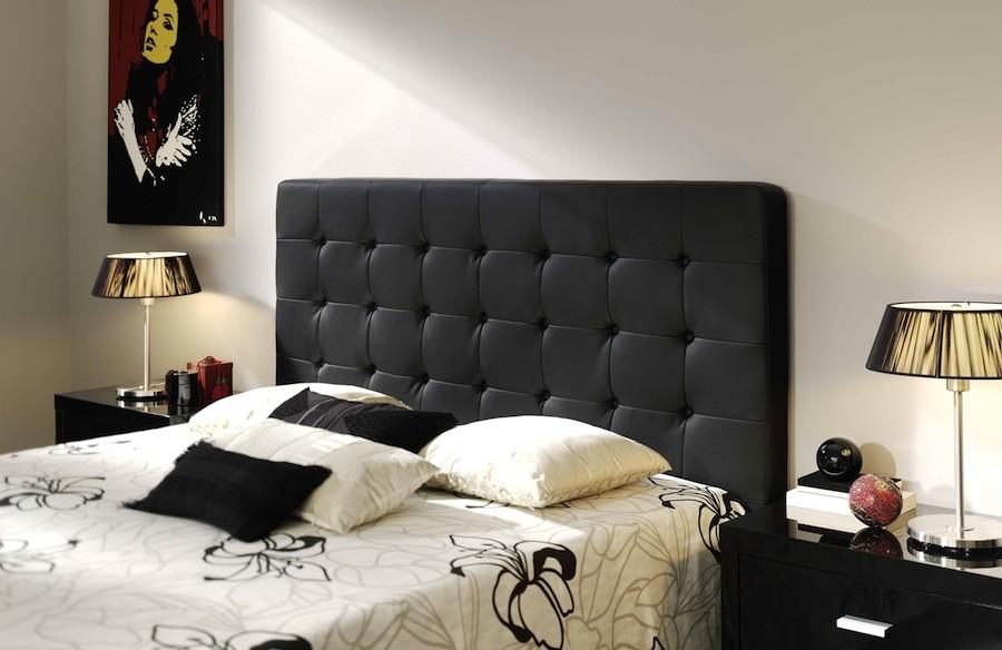 Cabezal para cama de polipiel Mod. Eva