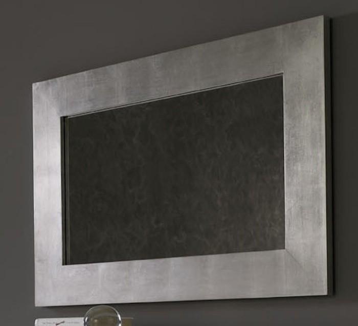 Espejo rectangular con efecto de papel pintado Mod. E-94