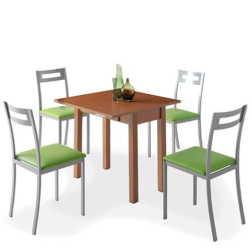 Mesa de Cocina Hena + 4 Sillas Pamis