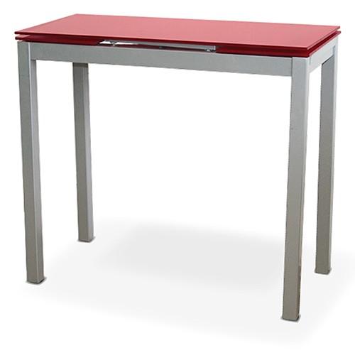 Mesa extensible de cocina Calcuta Roja