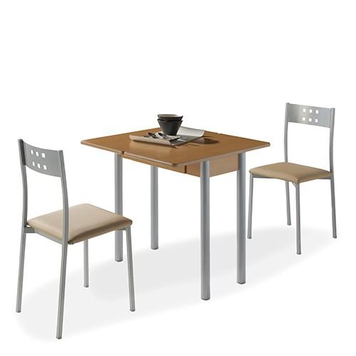 Mesa de cocina RIBETA + 2 sillas XARA