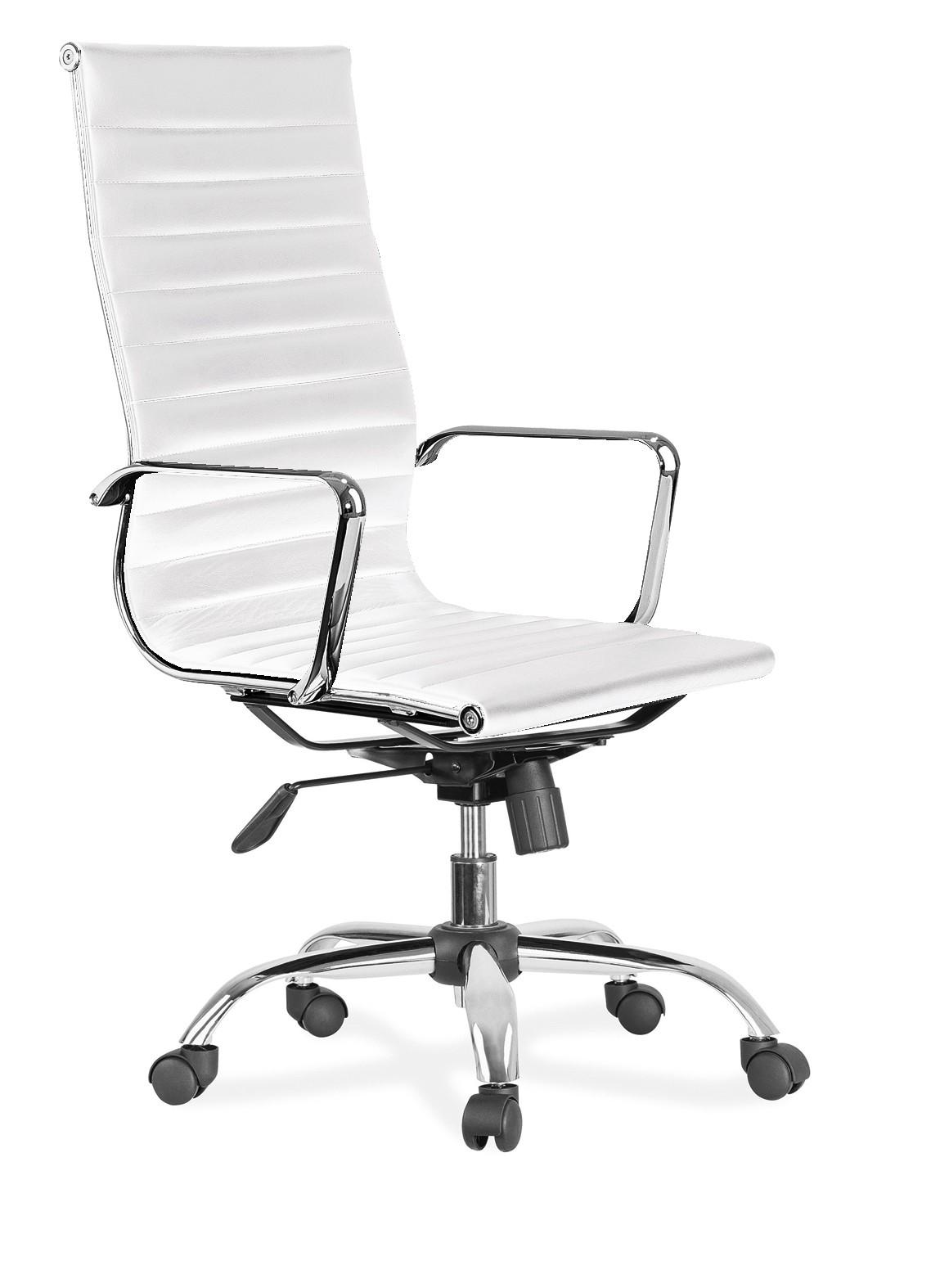 Silla de despacho mod. Office Blanca
