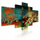 Cuadro de lienzo moderno abstracto distintos colores