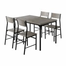 Conjunto de mesa con 4 sillas
